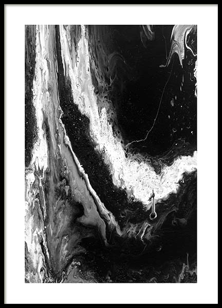 Abstract Black Plakat i gruppen Plakater / Sort-hvid hos Desenio AB (10271)