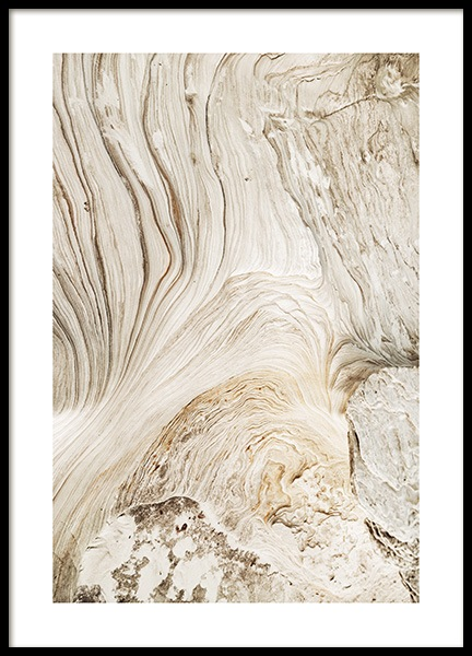 Abstract Cliffs Plakat i gruppen Plakater / Naturmotiv hos Desenio AB (12398)