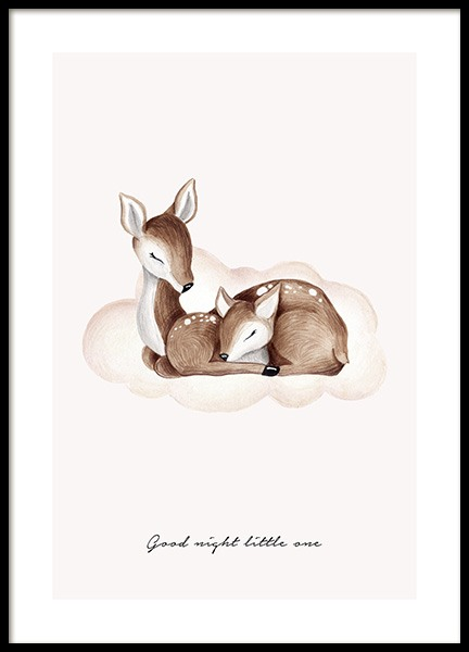 Good Night Little One Plakat i gruppen Plakater / Størrelser / 30x40cm hos Desenio AB (13073)
