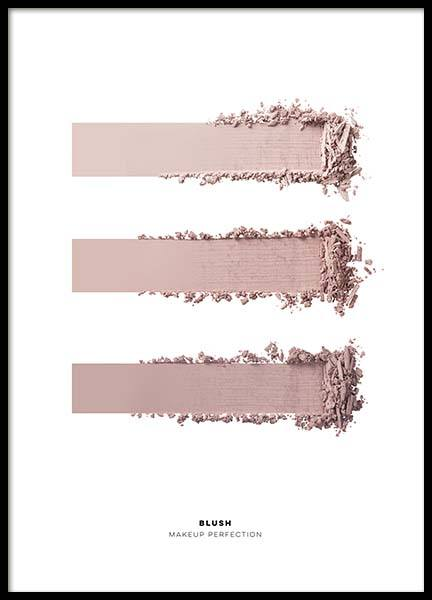 Three Shades Of Pink Plakat i gruppen Plakater / Fashion  hos Desenio AB (3376)