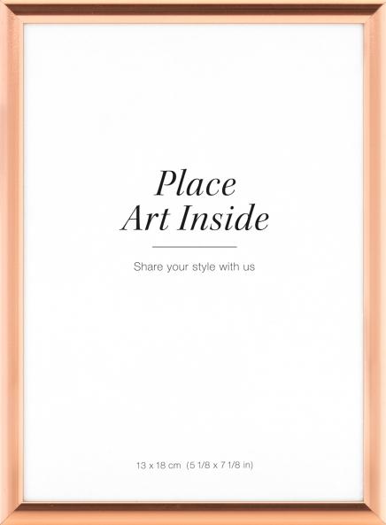 Plakatramme i kobber 13x18, små rammer online