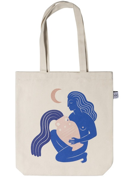 Under the Moon Tote Bag i gruppen Limited edition hos Desenio AB (TOTE50143)