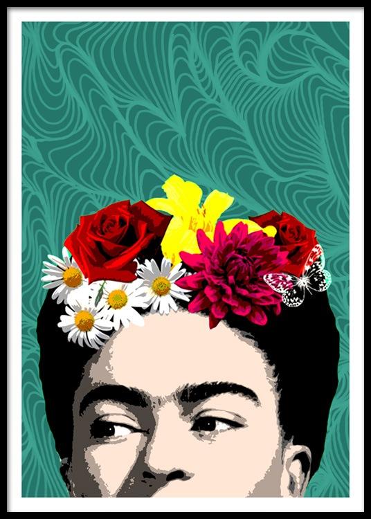 Shy Frida Plakat