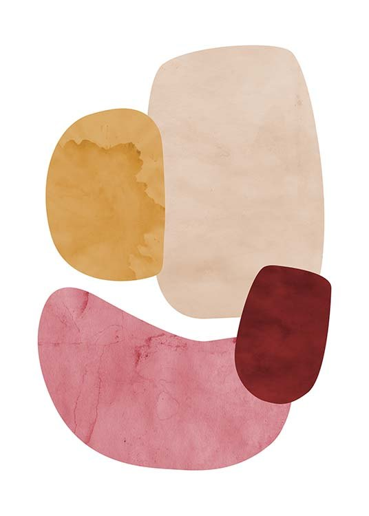 Color Shapes No2 Plakat / Kunstplakater hos Desenio AB (11694)