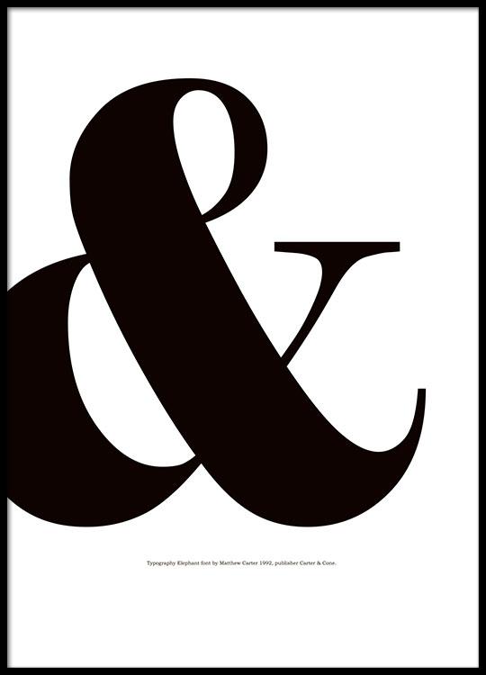 grafiske plakater med tegn sort hvide plakater og posters