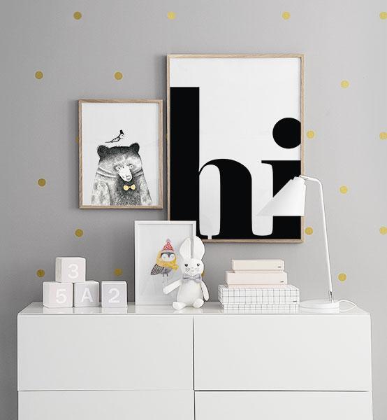 B rneplakater og plakater til b rn posters online til for Programa para decorar habitaciones online