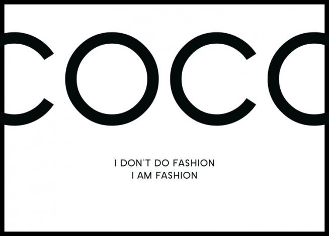 I Am Fashion, Plakat